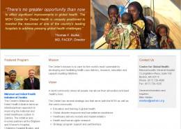 MGH home page