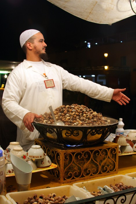 Snail soup seller, Marrakesh