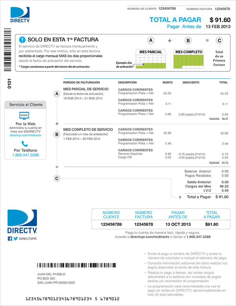 New Invoice Design